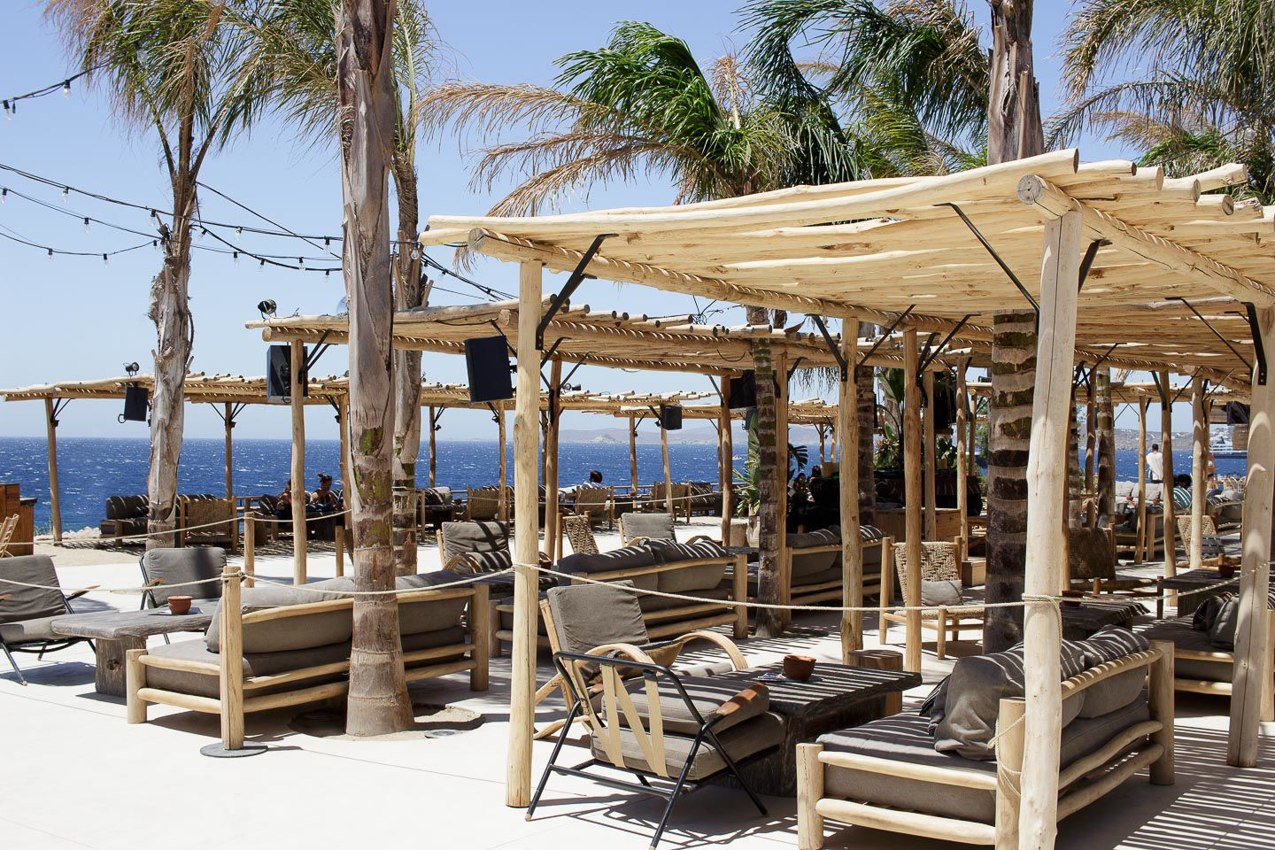 Best Island Beaches For Partying Mykonos St Barts: BEST SPOTS ON THE ISLAND