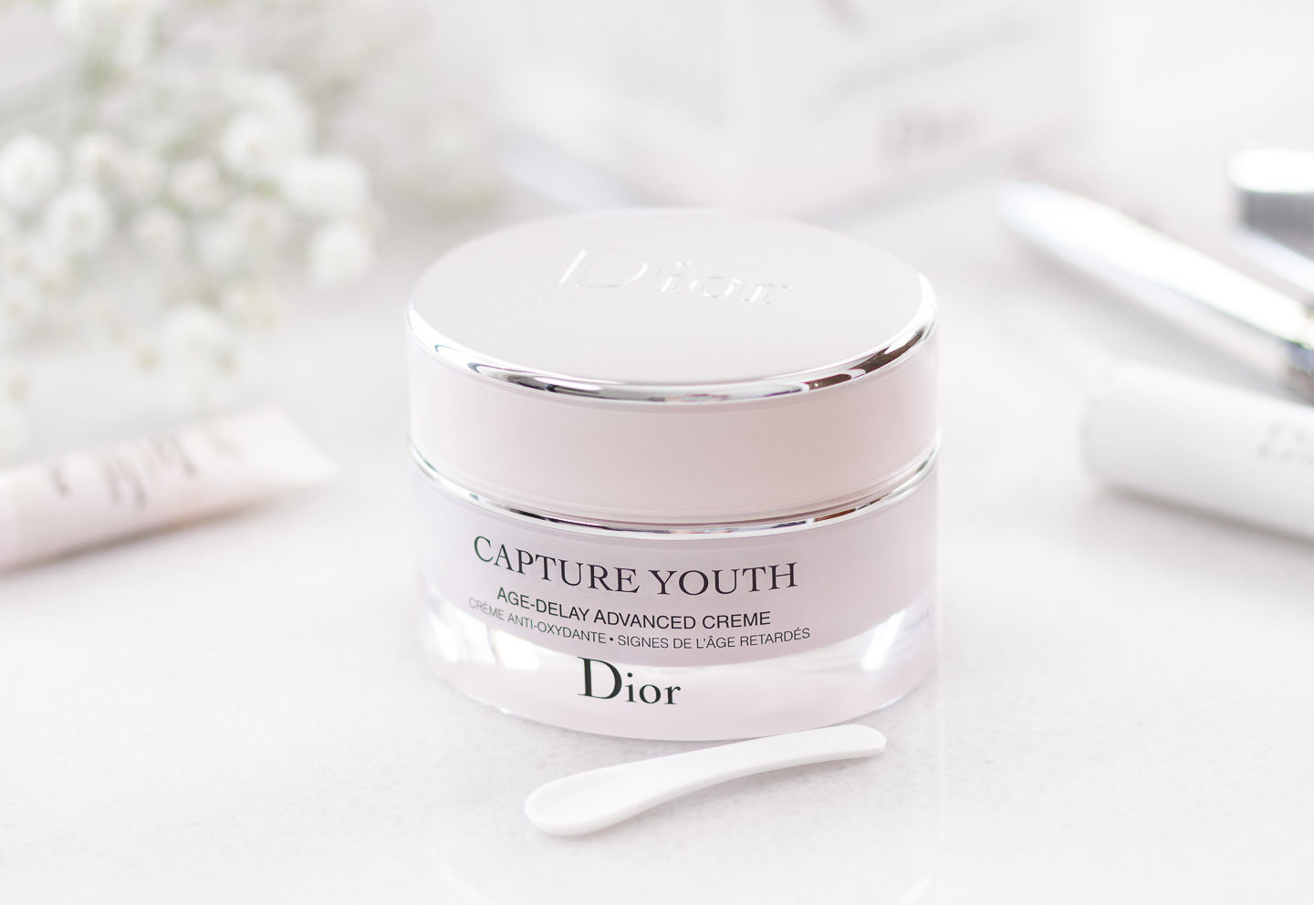 deb00999c03 DIOR CAPTURE YOUTH AGE DELAY ADVANCED CREME REVIEW